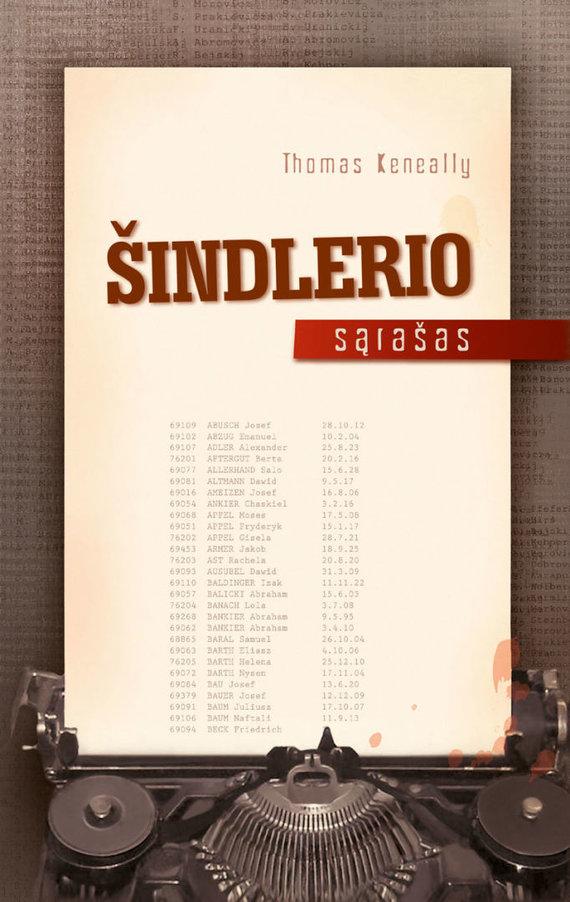 """Knygos viršelis/Knyga """"Šindlerio sąrašas"""""""
