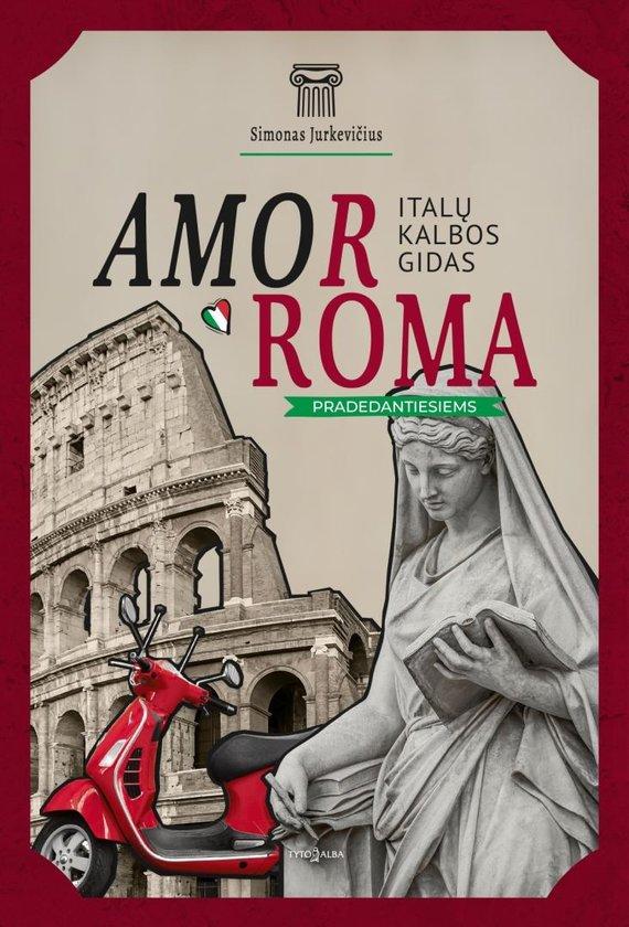 """Knygos viršelis/Knyga """"Italų kalbos gidas pradedantiesiems"""""""