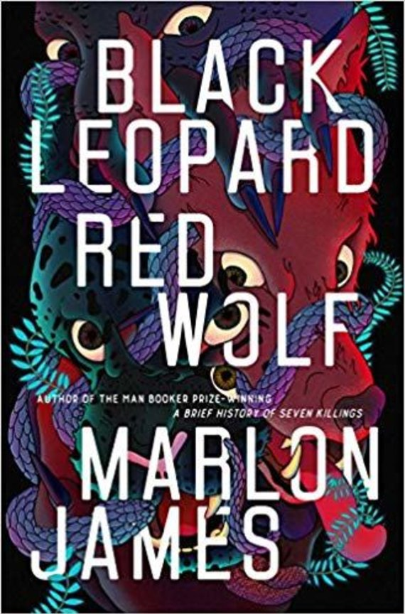 "Knygos viršelis/Knyga ""Black Leopard, Red Wolf"""