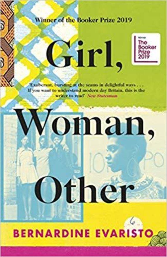 """Knygos viršelis/Knyga """"Girl, Woman, Other"""""""