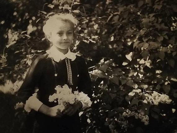 Modesta Jurgaitytė vaikystėje/Asmeninio archyvo nuotr.