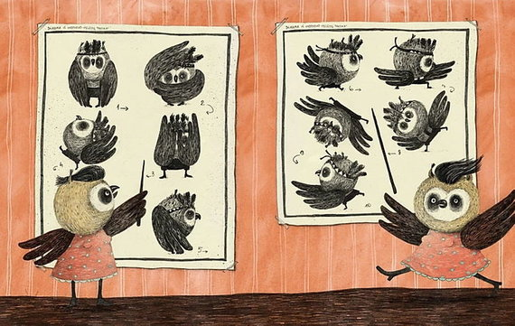Agnės Nananai iliustracija