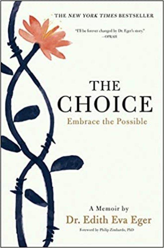 """Knygos viršelis/Knyga """"The Choice"""""""