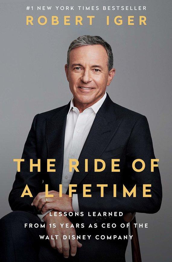 "Knygos viršelis/Knyga ""The Ride of Lifetime"""