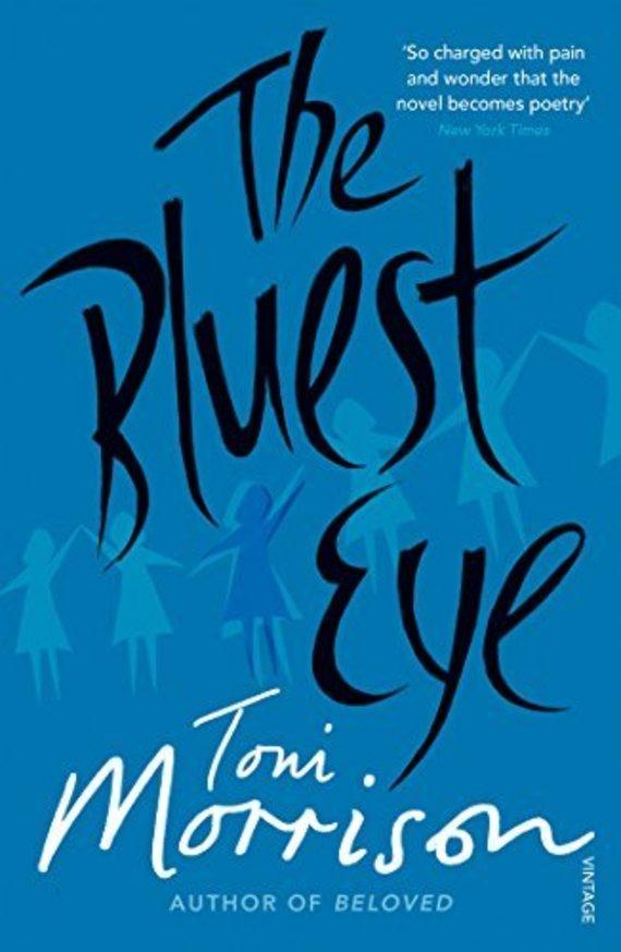 "Knygos viršelis/Knyga ""The Bluest Eye"""