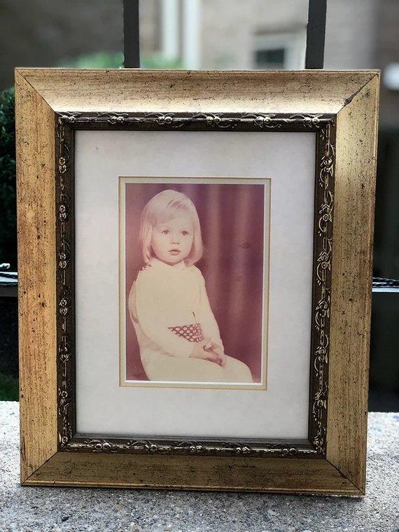 Asmeninio archyvo nuotr./Evelina Daciūtė vaikystėje