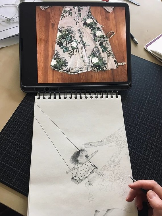 Asmeninio archyvo nuotr./Agnės Nananai kūrybinis procesas