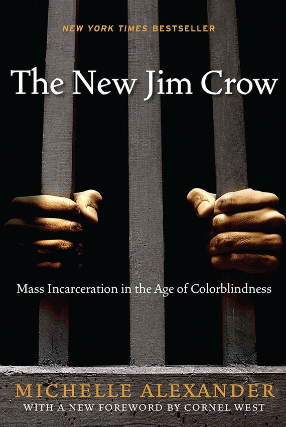 """Knygos viršelis/Knyga """"The New Jim Crow"""" Mass Incarceration in the Age of Colorblindness"""""""