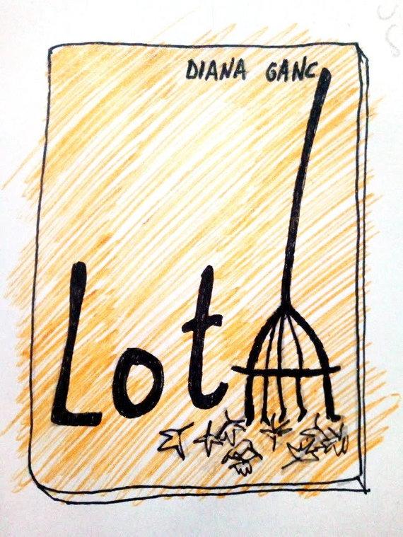 Dianos Ganc pieštas knygos viršelis