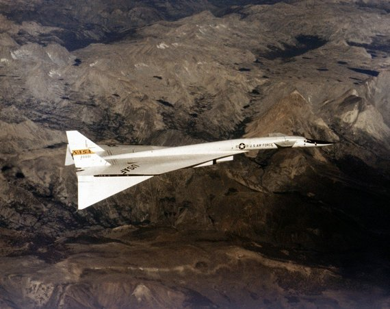 "Wikimedia.org nuotr./""XB-70 Valkyrie"""