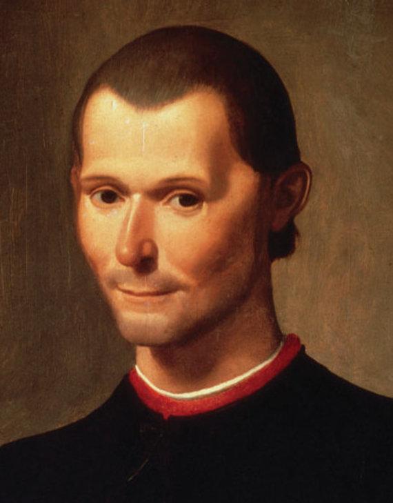 Wikimedia.org nuotr./Niccolo Machiavelli