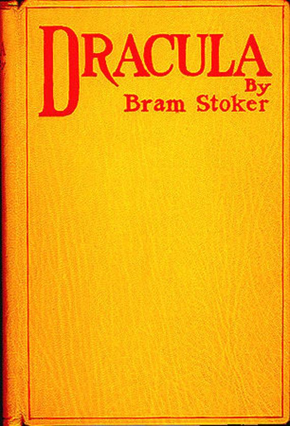 "Knygos viršelis/Knyga ""Drakula"""