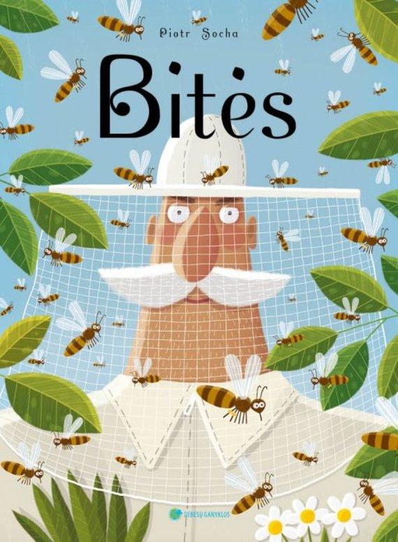 """Knygos viršelis/Knyga """"Bitės"""""""