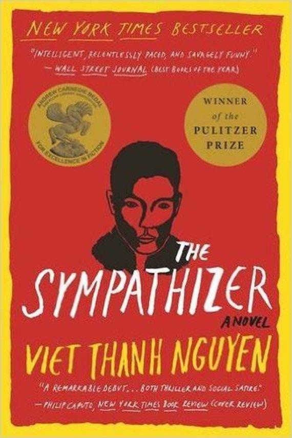 "Knygos viršelis/Knyga ""The Sympathizer"""