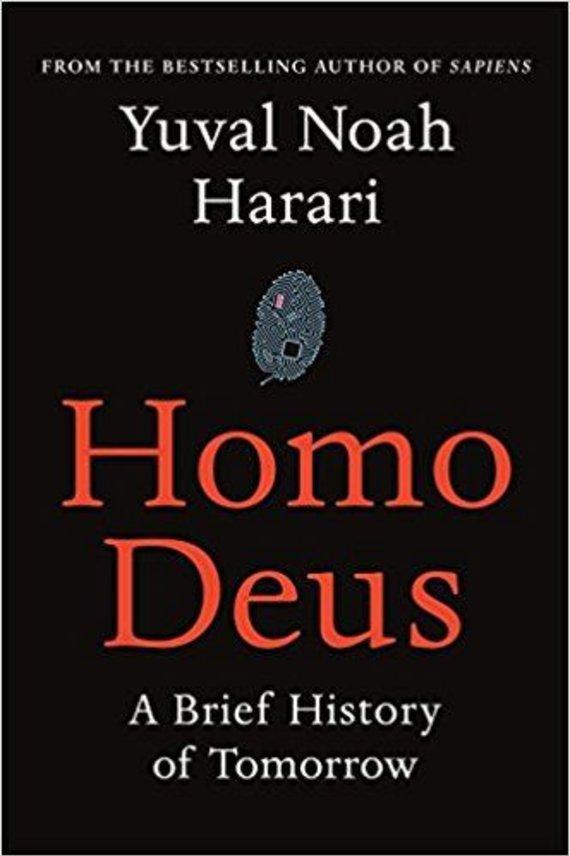 """Knygos viršelis/Knyga """"Homo Deus.Glausta rytojaus istorija"""""""