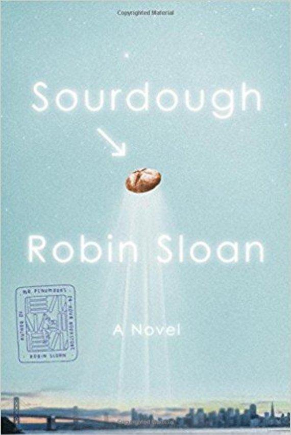 "Knygos viršelis/Knyga ""Sourdough"""