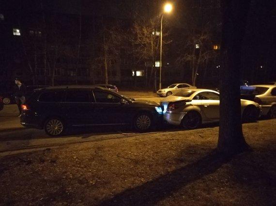15min skaitytojo Viliaus nuotr./Avarija Vilniuje