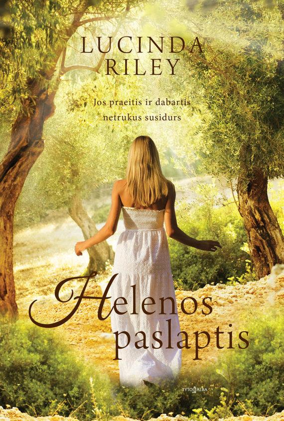 """Knygos viršelis/Knyga """"Helenos paslaptis"""""""