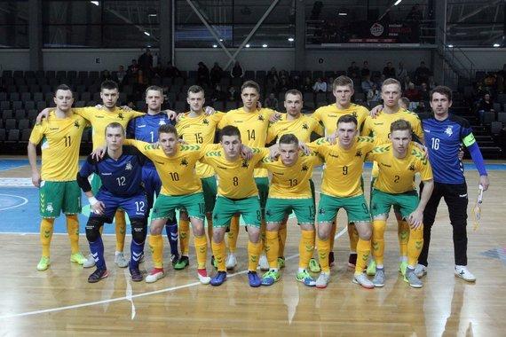 LFF nuotr./Lietuvos futsal rinktinė