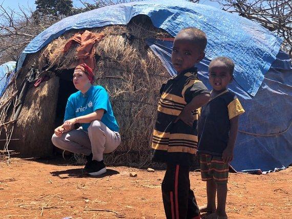 UNICEF nuotr./Justė Arlauskaitė-Jazzu Etiopijoje