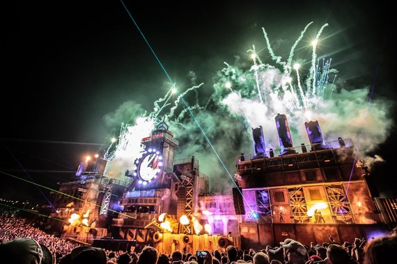 """Boomtown Fair"" nuotr./""Boomtown Fair"" festivalis Anglijoje"