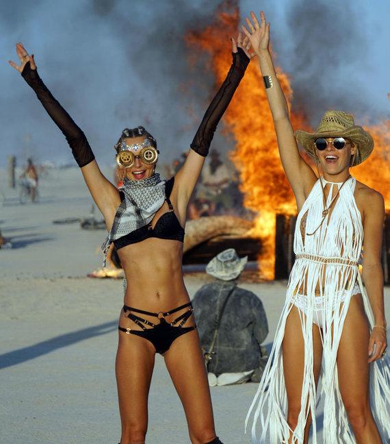 """Scanpix""/""Sipa USA"" nuotr./""Burning Man"" festivalis"