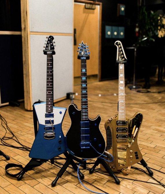 Asmeninio albumo nuotr./Naujos Jacko White'o gitaros