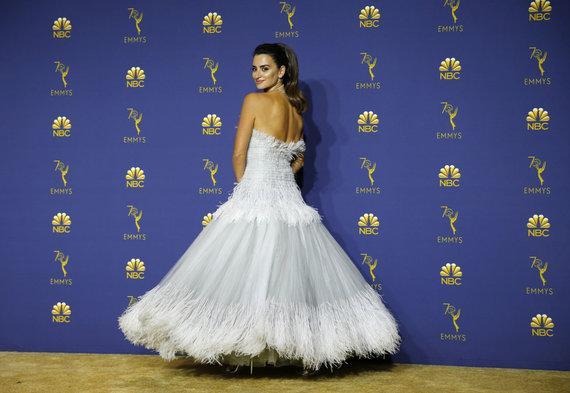 """""""Reuters""""/""""Scanpix"""" nuotr./Penelope Cruz – viena iš geriausiai atrodžiusių viešnių"""