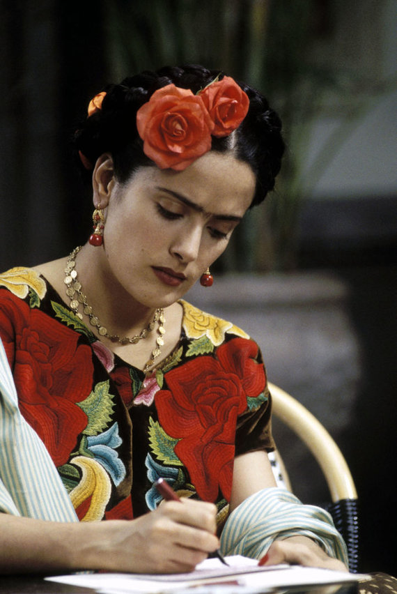 "Vida Press nuotr./Salma Hayek filme ""Frida"""