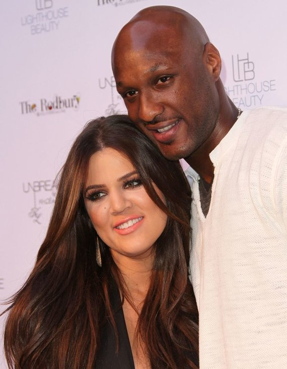 Khloe Kardashian ir Lamaras Odomas