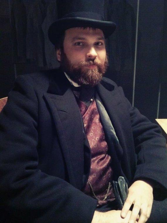 Asmeninio albumo nuotr./Valdas Samkus