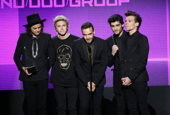 """Reuters""/""Scanpix"" nuotr./2 vieta – ""One Direction"" (75 mln. JAV dolerių)"