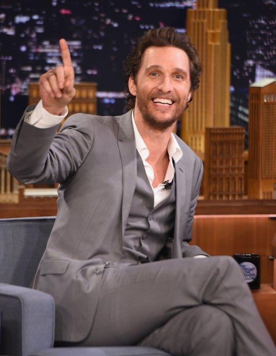 "AFP/""Scanpix"" nuotr./Matthew McConaughey"