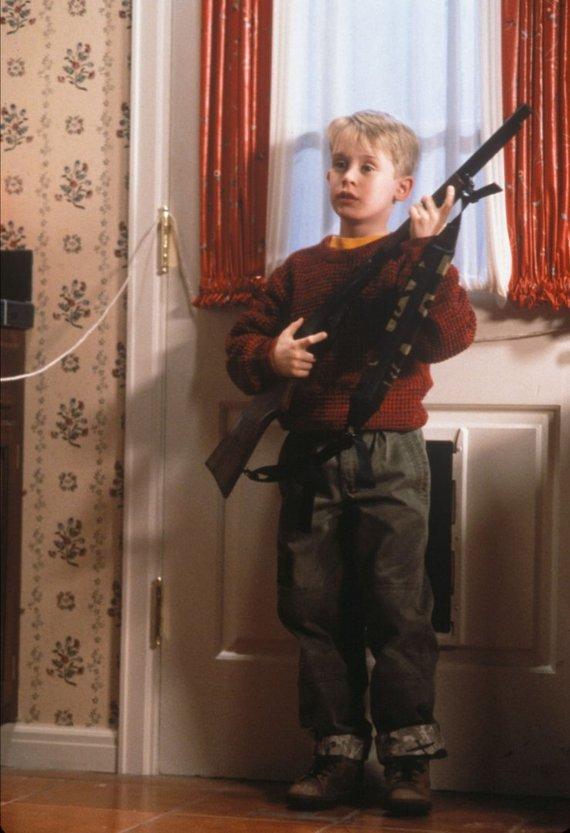 """""""Scanpix""""/""""Sipa USA"""" nuotr./Macaulay Culkinas filme """"Vienas namuose"""""""
