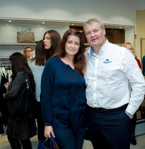 Robertino Valiulio nuotr./Algimantas Jablonskas su žmona Erika
