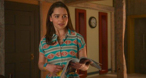 "Kadras iš filmo/Emilia Clarke filme ""Aš prieš tave"""