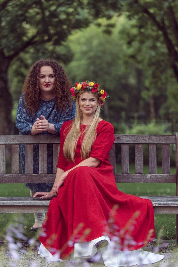 Vilijos Graužinytės nuotr./Loreta Sungailienė ir Justina Kulbačiauskaitė-Žebelienė