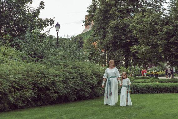 Vilijos Graužinytės nuotr./Loreta Sungailienė su dukra Liepa