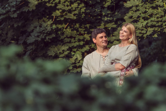 Vilijos Graužinytės nuotr./Loreta Sungailienė su vyru Daliumi