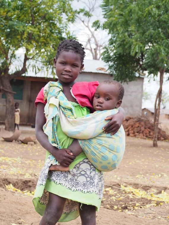 Asmeninio albumo nuotr./UNICEF misija Malavyje