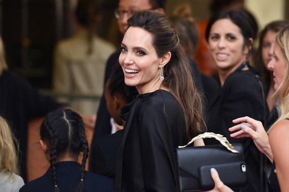 """Scanpix""/""Sipa USA"" nuotr./Angelina Jolie"