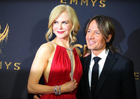 """Reuters""/""Scanpix"" nuotr./Nicole Kidman ir Keithas Urbanas"