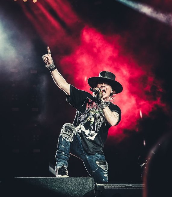 """Live Nation"" nuotr. /Grupė ""Guns N' Roses"""