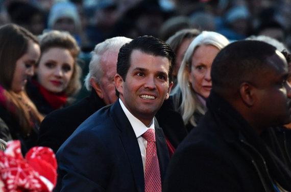 """AFP/""""Scanpix"""" nuotr./Donaldas Trumpas jaunesnysis"""