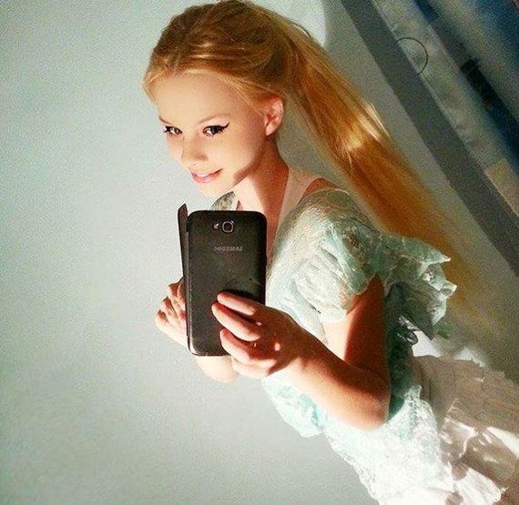 """""""Instagram"""" nuotr./Taip Gabriela Jiračkova atrodė būdama 13-os metų"""