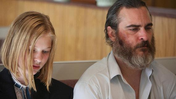 """Kadras iš filmo/Joaquinas Phoenixas trileryje """"Tavęs niekada čia nebuvo"""""""