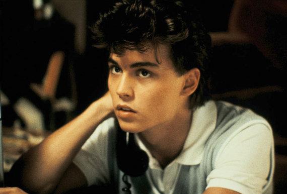 "Vida Press nuotr./Johnny Deppas filme ""Košmaras Guobų gatvėje"" (1984 m.)"