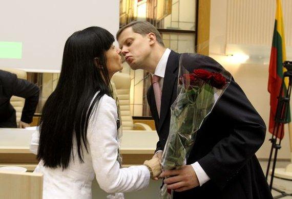 Aušra Ručienė ir Andrius Kupčinskas