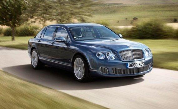 """Gamintojo nuotr./Asociatyvi nuotrauka: """"Bentley Continental"""""""