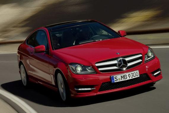 """""""Mercedes–Benz"""" nuotr./""""Mercedes–Benz C–Class"""" kupė"""